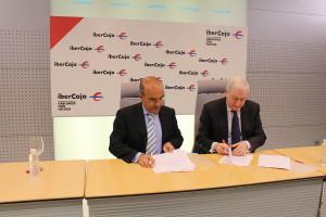 Ibercaja y la Cámara de Comercio renuevan su convenio de colaboración
