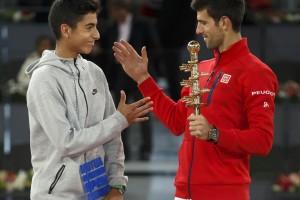 El tenista burgalés Nicolás Álvarez gana el Master Mutua Madrid Open sub16