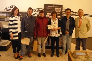 Se entregan los premios del XIII Concurso de Postales del Museo de Dinosaurios