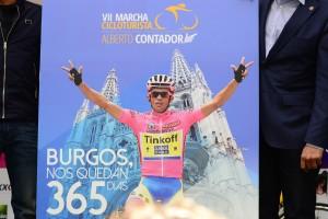 Burgos acogerá en 2017 la 'VII Marcha Cicloturista Alberto Contador'