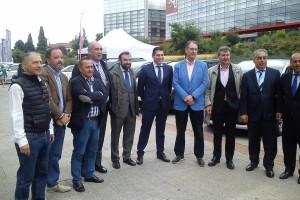 El Paseo de la Evolución recibe durante tres días la VI Feria del Automóvil