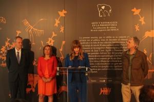 El MEH presenta la exposición 'Arte y Naturaleza en la Prehistoria', que muestra una selección de calcos de arte rupestre del MNCN