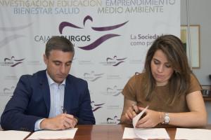 La Fundación Caja de Burgos y la Asociación de Jóvenes Empresarios renuevan su convenio de colaboración