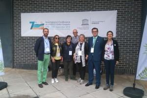 Las Diputaciones de Palencia, Burgos, y la Junta de Castilla y León defienden en Torquay la candidatura de Las Loras a Geoparque Mundial de la Unesco