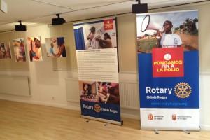 El Club Rotario de Burgos presenta la exposición Pongamos fin a la Polio