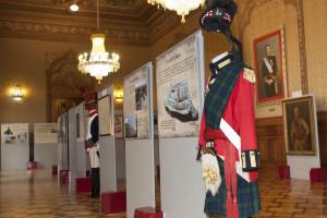 Inaugurada la exposición Paisajes y Soldados en el Palacio de Capitanía