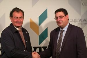 Fundación Caja Rural Burgos y el Club Deportivo Burgos Promesas 2000 renuevan su convenio de colaboración