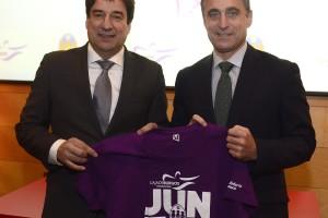 La Fundación Caja de Burgos y el Club Baloncesto Miraflores renuevan el programa de inclusión social 'Juntos'