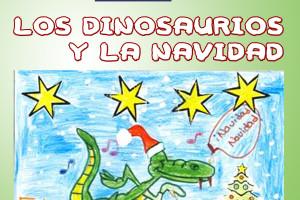 Los Dinosaurios y la Navidad lleva por título el XI Concurso de Tarjetas Navideñas 2016 de Aspanias