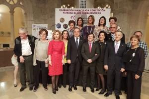Jesús Aguilar Santamaría recibe el premio Juan Manuel Reol Tejada Padre de la farmacia moderna