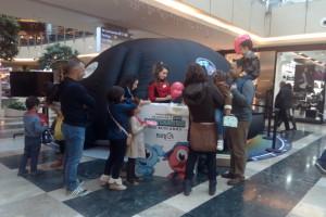 3.800 participantes en la actividad de promoción turística de la Diputación en el Centro Comercial Madrileño Isla Azul
