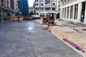 Una inversión de casi 600.000 mil euros para mejorar la superficie de Sto. Domingo y el Espolón