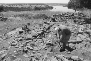 El yacimiento arqueológico de 'El Castillón' protagonista mañana en la segunda de las charlas del ciclo del MEH 'Del andamio al Dron'