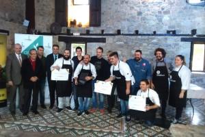 Gonzalo Calzadilla García del Restaurante Mitte de Madrid, Ganador  del 8º Concurso de Cocina