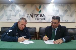 La Fundación Caja Rural Burgos renueva su apoyo al deportista Javier del Canto