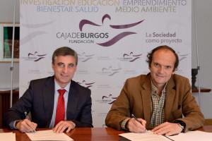 La Fundación Caja de Burgos y el Club Burgos C.F. renuevan el programa de inclusión social 'Juntos'