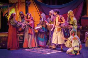 La Fundación Caja de Burgos presenta el espectáculo 'Aladín, un musical genial' el sábado 4 de febrero en la avenida de Cantabria