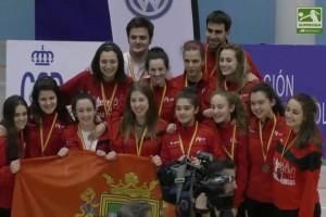 El equipo Junior de Voley de la Universidad de Burgos queda tercero en la Superliga
