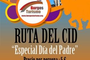 Burgos Turismo propone una visita guiada para conocer los lugares más emblemáticos relacionados con el Cid Campeador