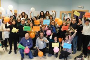 Los integrantes de la II Lanzadera de Burgos ayudan a otras personas en desempleo a buscar trabajo