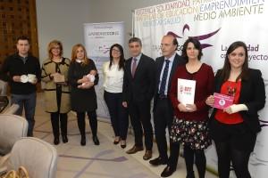 La Fundación Caja de Burgos propicia la creación de 10 nuevas empresas y 15 puestos de trabajo en 2016 a través de su programa Emprendedores