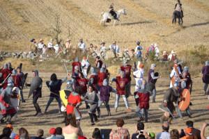 La Junta de Castilla y León declara como fiesta de interés turístico regional la 'Batalla de Atapuerca'