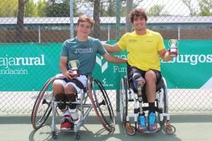 Resultados del Campeonato de España de Tenis en Silla de Ruedas realizado en Miranda de Ebro