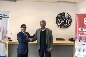 Cáritas Burgos y el Colegio Oficial de Farmacéuticos de Burgos firman un acuerdo para facilitar el acceso a los medicamentos