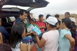 Cáritas Burgos mantiene abierta la campaña de solidaridad con Perú