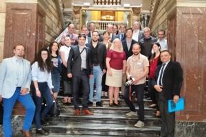 Instituciones europeas de 9 países conocen la línea de microcreditos de Sodebur para emprendedores del medio rural