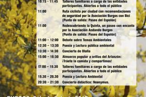Burgos celebra la I Feria de Medio Ambiente en el Espolón el sábado 3 de junio