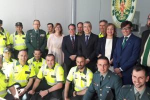 El Director General de Tráfico visita Burgos y Aranda de Duero