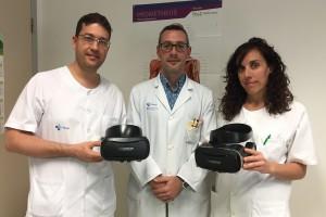El HUBU pone en marcha un sistema de realidad virtual inmersiva a modo de analgésico