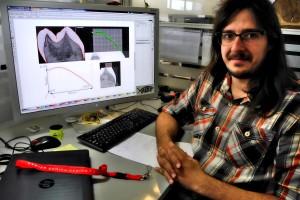 El equipo de Antropología Dental del CENIEH ha reconstruido el esmalte desgastado de molares a otros elementos anatómicos