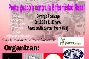 """La Asociación Alcer Burgos realiza el Evento Solidario """"Ponte Guapo/a contra la enfermedad renal"""
