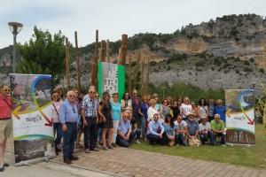 """""""Provincia de Burgos, Origen y Destino"""" reúne a empresarios turísticos de las Merindades en la Casa del parque la Metrópoli Verde de San Zadornil"""