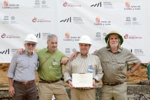 """Alberto Velasco, director de relaciones institucionales de Mahou San Miguel, ha sido nombrado """"Embajador de la Fundación Atapuerca"""""""
