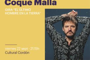 Cultural Cordón acogerá dentro del Festival Tribu un concierto de Coque Malla