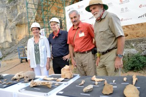 La Sierra de Atapuerca contará la próxima campaña de excavaciones con el nuevo yacimiento de Cueva Fantasma