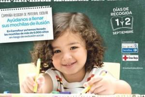 La Fundación Solidaria Carrefour y Cruz Roja lanzan la campaña Vuelta al Cole Solidaria