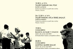 El MEH celebra mañana una jornada de música y bailes 'folk' y el domingo múltiples actividades con motivo del 'Fin de Semana Cidiano'