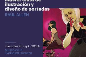 Mañana el MEH acogerá la masterclass de Ilustración y Diseño de Portadas