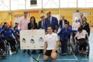 Cajaviva Caja Rural y la Fundación ONCE ponen el deporte en valor a jóvenes burgaleses de entre 12 y 15 años
