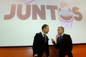 La Fundación Caja de Burgos y el Club Baloncesto Miraflores renuevan el programa de inclusión social 'Juntos' en el Coliseum