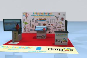 """""""Provincia de Burgos, Origen y Destino"""" dispone un stand de información turística en el Centro Comercial Xanadú durante 21 días"""