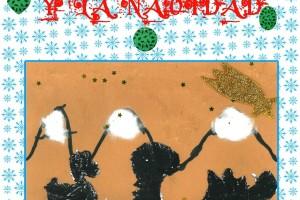 """Ya podéis participar en el XII Concurso de Tarjetas de Navideñas """"Los Dinosaurios y la Navidad"""""""