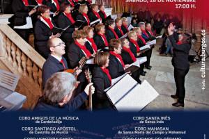 Trespaderne y Huerta de Arriba acogen una nueva edición de las Muestras Provinciales de Coros y Corales