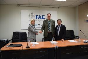 FAE y Bankia han suscrito un convenio de colaboración con el fin de impulsar la competitividad de las empresas burgalesas