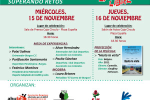 Las Asociaciones del Centro Socio Sanitario Graciliano Urbaneja organizan una Jornada en Deporte y Discapacidad