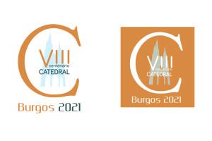 La Fundación VIII Centenario de La Catedral Burgos 2021 presenta el logotipo de los 800 años de la seo burgalesa